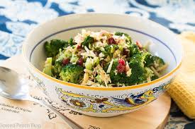 broccoli salad thanksgiving or tailgate side spiced