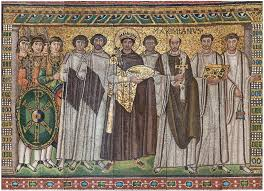 emperor justinian and members of his court byzantine the met