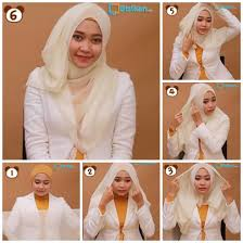 tutorial hijab paris ke pesta hijab cara memakai jilbab paris untuk kus