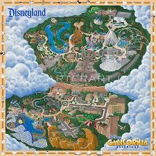 map of california adventure disneyland reasort map thread disneyland california adventure