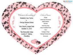 Program Fan Fan Shaped Wedding Programs