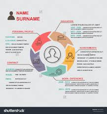 Best Infographic Resume Templates wonderful freebie infographic resume psd template creative design