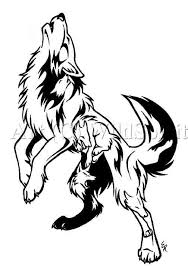 a tribal wolf on s left arm tribal wolf tattoos