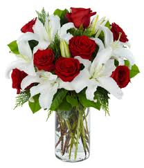 white lillies exclusive arrangement at from you flowers