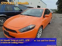 2013 dodge dart sxt for sale 2013 dodge dart sxt for sale oneonta ny 2 0l 4 cylinder orange