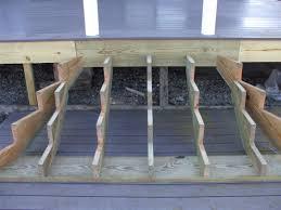 deck stair landing framing precast concrete steps prices for