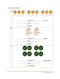 maths multiplication worksheet cbse grade ii