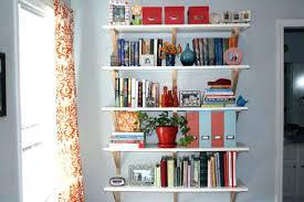 Wall Mounted Bookcase Shelves Bookcase Rain Gutter Book Shelves Wall Mounted Childrens