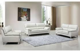 Light Gray Leather Sofa by Skye Chocolate Leather Sofa Set