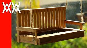 make a porch swing bird feeder pallet wood youtube