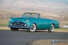 1953 packard caribbean custom convertible scottsdale auction