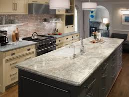 kitchen island different color than cabinets cabinet flooring topshop journal