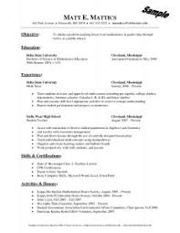 Resume Writing Templates Free Examples Of Resumes 89 Surprising What To Write In A Resume