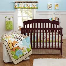 baby bedding jungle jungle buddies 3 piece baby crib bedding set