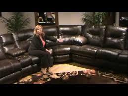 Catnapper Leather Reclining Sofa 3 Pc Cortez Leather Reclining Sectional Sofa By Catnapper Home