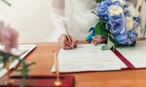 wedding planning 101 how to legally change your name after marriage rocket lawyer