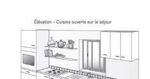 cuisine fonctionnelle plan beautiful plan cuisine lineaire pictures amazing house