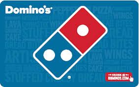 domino s domino s pizza gift card
