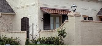 Copper Awnings For Homes Why Copper Awnings Are So Popular In Louisiana