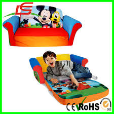 Mickey Mouse Fold Out Sofa Flip Open Kids Lounger Furniture Toddler Mini Couch Mickey Mouse