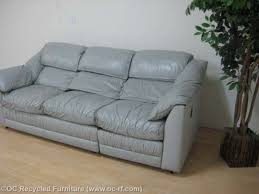 The Leather Factory Sofa Gray Leather Factory Sofa 2 Jpg