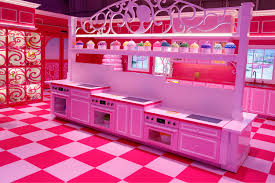 plastic fantastic meets plattenbau uncube the dreamhouse kitchen welcomes all heights to partake in the baking of a cupcake