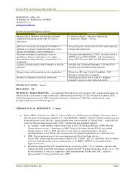 Network Design Engineer Resume Senior Network U0026amp Systems Engineer Resume Mike Liu