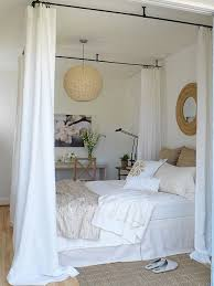 White Bed Canopy Ceiling Bed Canopy Cottage Bedroom Margot Austin
