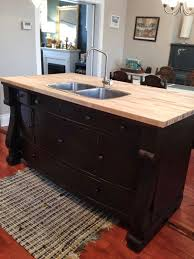 how to build a kitchen island with sink and cabinets repurposed gems our kitchen kitchen sink diy dresser