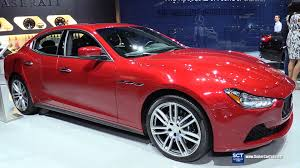 red maserati cost 2016 maserati ghibli s v6 exterior and interior walkaround