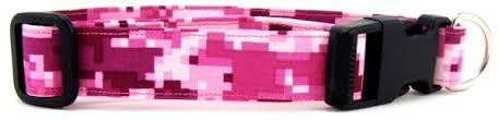 Pink Camo Dog Bed Patriotic Camo And Bandana Dog Collars From K9 Bytes Inc