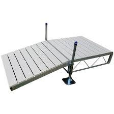patriot shore ramp kit 4 u0027 aluminum deck 671273 docks u0026 dock
