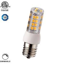 under cabinet dimmable led lighting 3 5w dimmable e17 candelabra led bulb torchstar