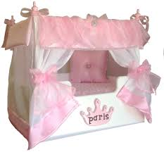 Girls Princess Canopy Bed by Princess Canopy Dog Bed Personalized Dog Bed