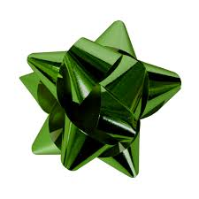 green gift bow bow unrestricted stock