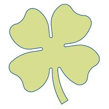 studio four leaf clover large accuquilt