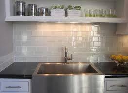 Stunning White Glass Backsplash Gallery Home Decorating Ideas - White glass backsplash tile