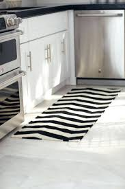 Black And White Striped Kitchen Rug Kitchen Black And White Striped Kitchen Rug Get The Warmth You