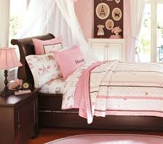 Paris Bedding For Girls by Paris Toile Duvet Cover Pottery Barn Kids