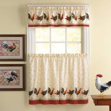 Curtains And Rugs Rooster Kitchen Decor Rugs And Matching Curtains With Rooster