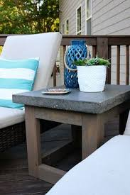 concrete outdoor side table diy concrete side table diy concrete concrete and concrete table