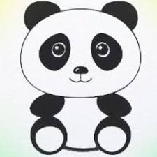 coloring pages how to draw panda face ytkrkmk7c coloring pages