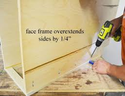 best screws for attaching cabinets together building base cabinets ana white woodworking projects