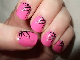 punky pink nail art tutorial youtube easy neon pink nails