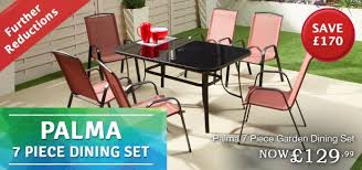 the range further reduction palma 7 piece dining set now