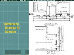 ppt architectural dimensioning part 1 powerpoint presentation
