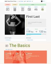 simple science fitness