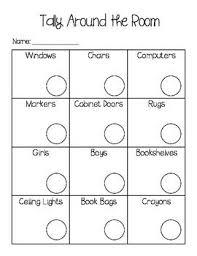 free worksheets tally mark worksheets for kindergarten free