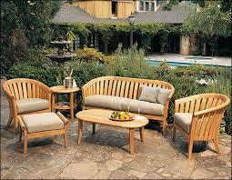 teak furniture outdoor patio for amazing household plan unique deck