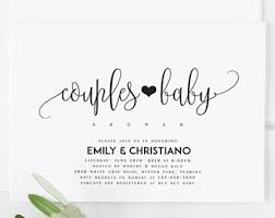 greenery baby shower invitation template rustic greenery baby
